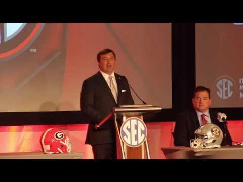 Georgia head coach Kirby Smart at SEC Media Days - FULL Press Conference