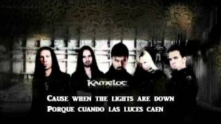 KAMELOT - WHEN THE LIGHTS ARE DOWN (LYRICS Y SUB ESPAÑOL)