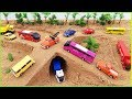 Escavadeira, Caminhoes, Tratores, Carros, Onibus, Video Para Criança