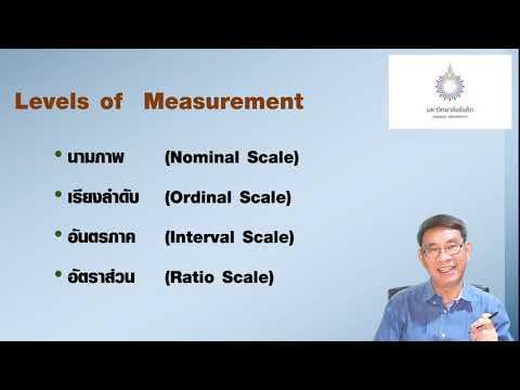 3.  การวัดค่าตัวแปร