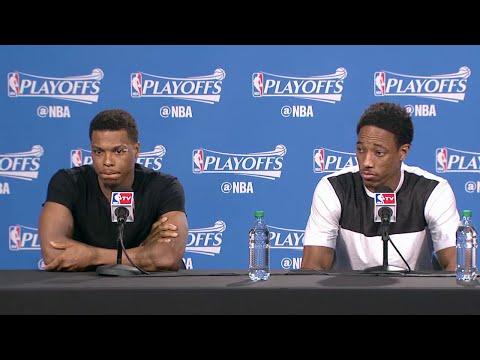 Raptors Post-Game: Kyle Lowry & DeMar DeRozan - May 11, 2016