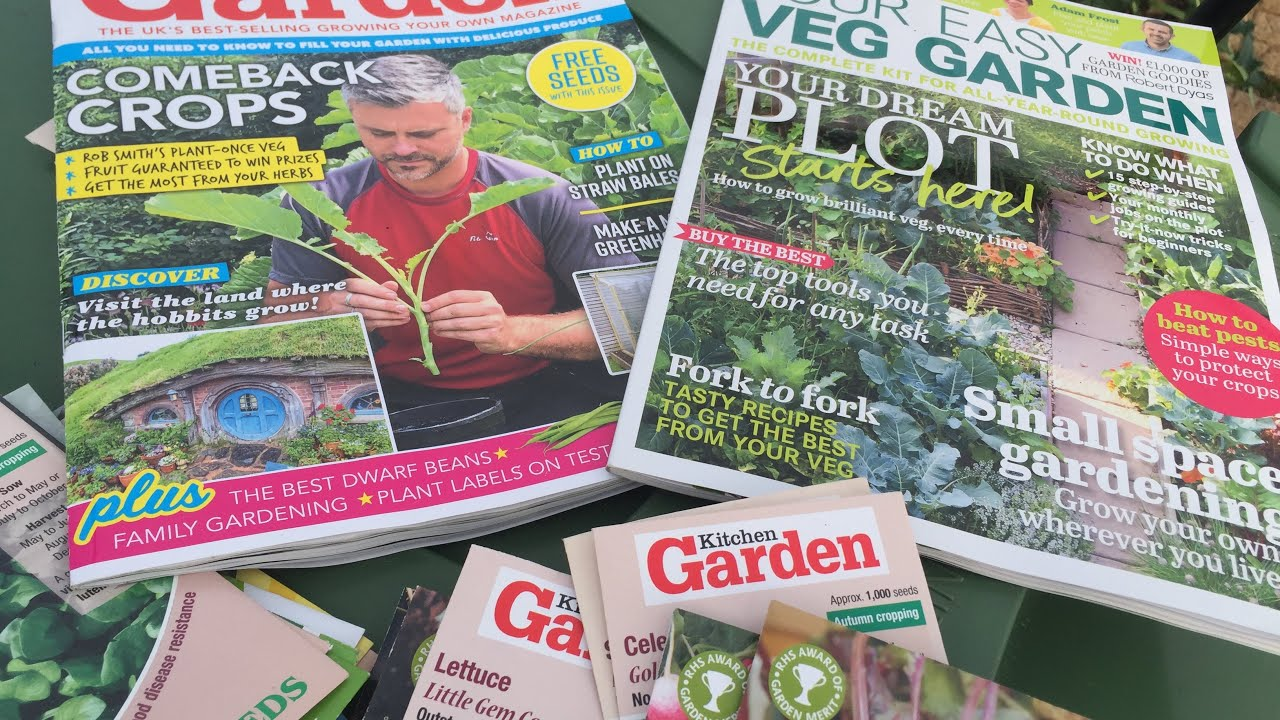 Your Easy Veg Garden And Kitchen Garden Magazine Free Seed Review