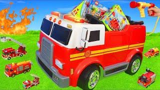 Download Carrinho de bombeiros - Bombeiro Sam  e carrinhos da patrulha canina para crianças Mp3 and Videos
