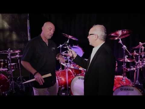 Yamaha Absolute Hybrid Drum Set - NAMM 2014