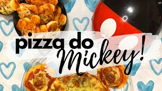 Receita: Pizza do Mickey | Mundo da Cami