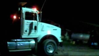 Da1grl dump truck drifting (EPIC!!!!!!)