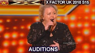"Baixar Jacqueline Faye 53 Farm Girl  ""You're My World"" STANDING OVATION AUDITIONS week 1 X Factor UK 2018"