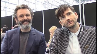 Good Omens - Michael Sheen and David Tennant Interview (NYCC)