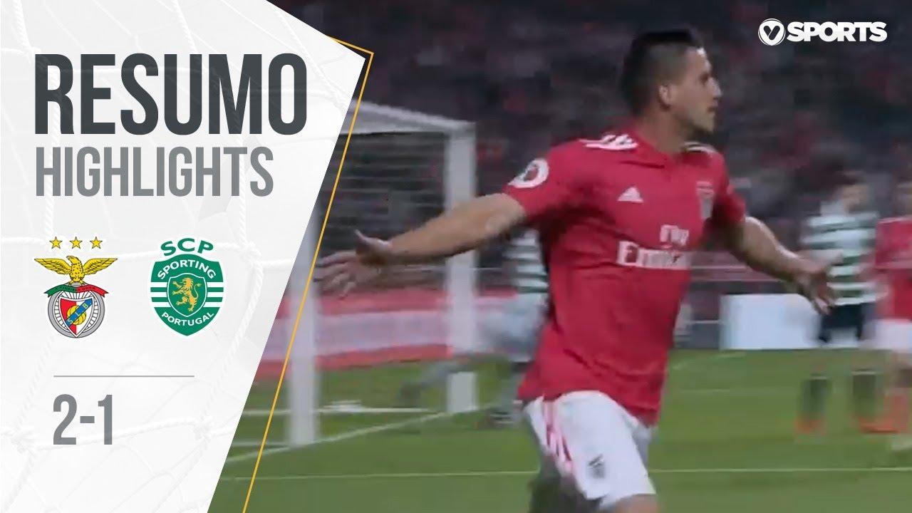 Resumo Benfica: Resumo: Benfica 2-1 Sporting (Taça De
