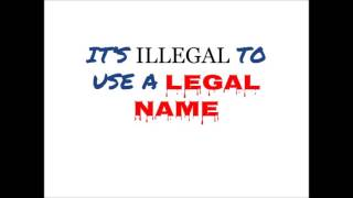 HCA (hospital corpse of america): it is illegal to use legal names.