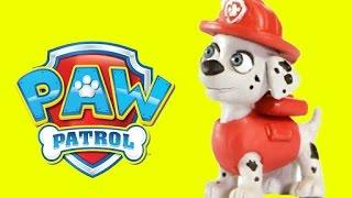 Paw Patrol Marshall Chase Play-Doh Stop Motion - Superhero Pranks Villain