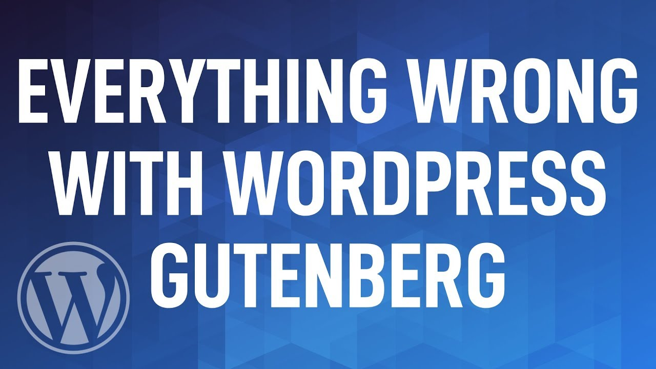 Everything Wrong with WordPress Gutenberg...from a Product Management POV