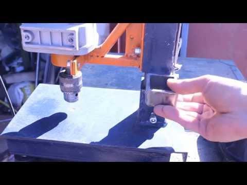 видео: Самодельная стойка для дрели своими руками.Часть6.homemade drill press