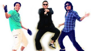 Indian Style! (Korean Pop + Indian Classical) (Gangnam Style Remake!)