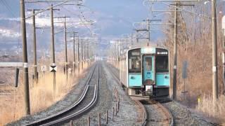 青い森鉄道 青い森701系2561M 諏訪ノ平~剣吉 2017年3月12日