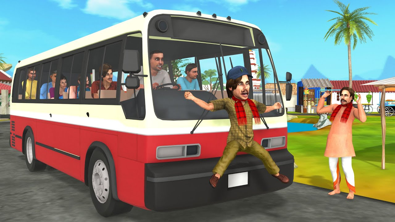 बिल्लू बस ड्राइवर हिंदी कहनिया Hindi Kahaniya - Billu Bus Driver Comedy Kahani - Funny Comedy Video