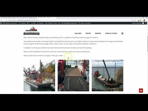 WaterFront Construction - Pages