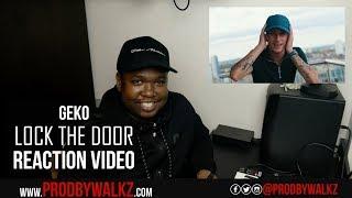 Geko - Lock The Door [Music Video] | GRM Daily REACTION #RoadTo1KSubs