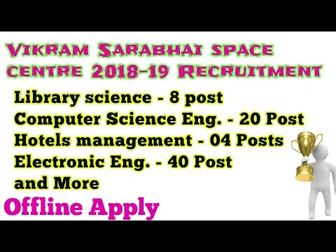 VSSC Recruitment 2018-19(173 Post)