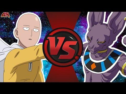 SAITAMA vs BEERUS! (One Punch Man vs Dragon Ball Super) Cartoon Fight Club Bonus Episode 7
