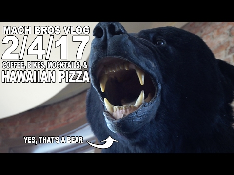 3030 Coffee, Peoria's Only Bike Coop, Mocktails, and Pizza Pizza - The Mach Brothers Daily Vlog