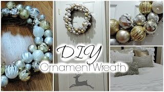 DIY Christmas Decor | Ornament Wreath Thumbnail