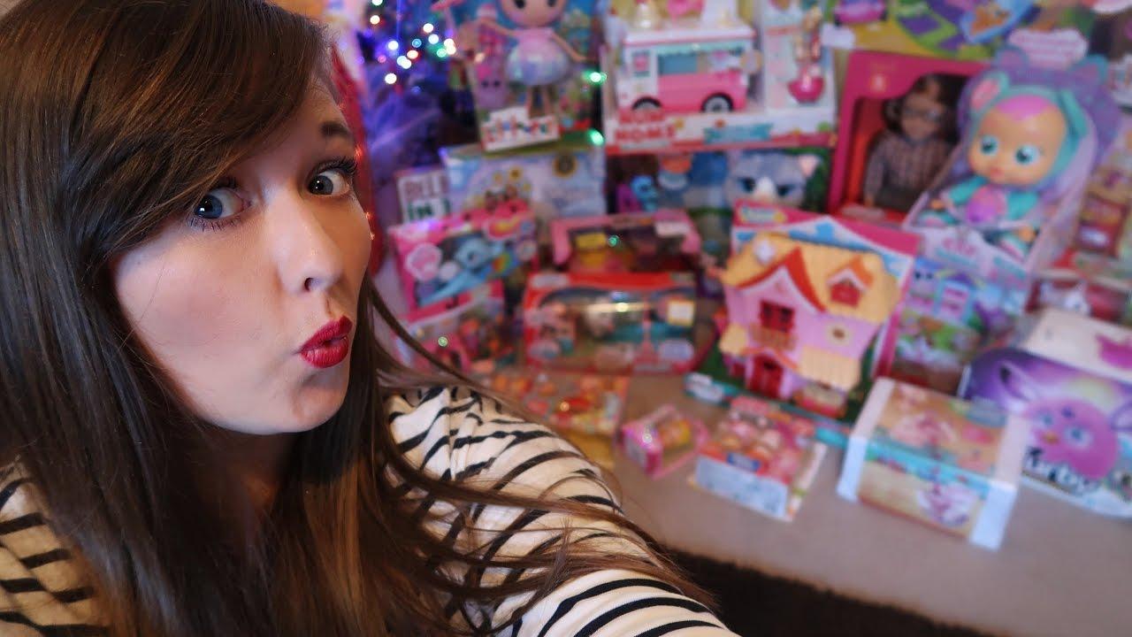 New Christmas Toy Haul Vlogmas Day 9 Youtube