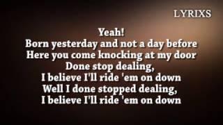 The Rolling Stones - Ride 'Em On Down [ Lyrics ]