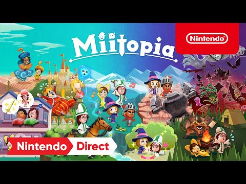 Miitopia - Announcement Trailer - Nintendo Switch