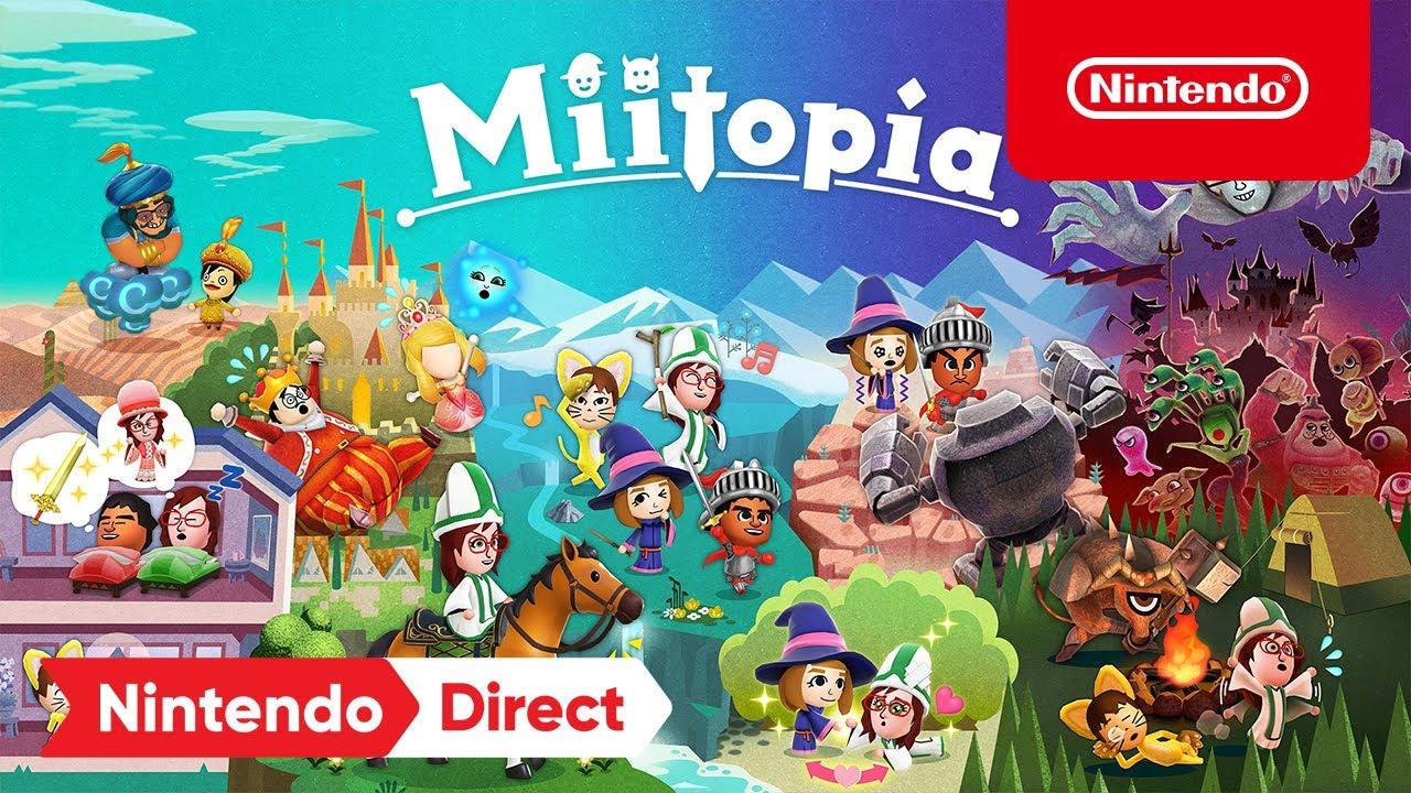 Miitopia – Announcement Trailer – Nintendo Switch - YouTube