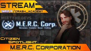 Star Citizen Spotlight - M.E.R.C. Corporation [Deutsch/German] [Twitch]