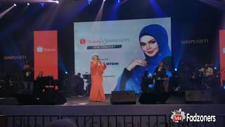 fancam Dato Seri Siti Nurhaliza Kasihku Selamanya LIVE Concert 2019