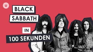Black Sabbath in 100 Sekunden | uDiscover Music thumbnail