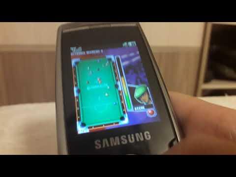 Samsung SGH-L770 Games / Игры