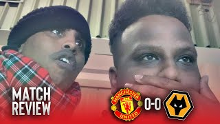 Manchester United 0-0 Wolves | Match Reaction | Bruno Fernandes debut fails to inspire United