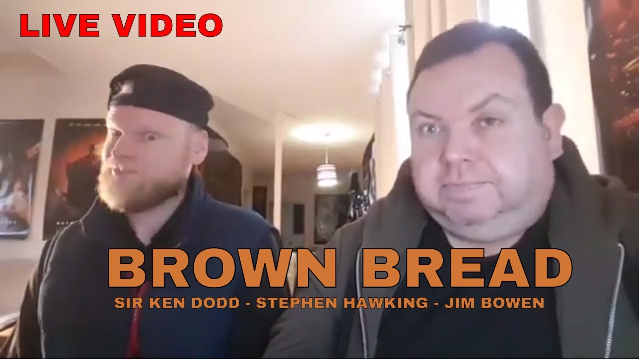 Celebrity Brown Bread Live Ken Dodd Stephen Hawking Jim Bowen