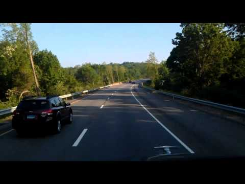 Rolling North on Connecticut Highway 9 from Interstate 95