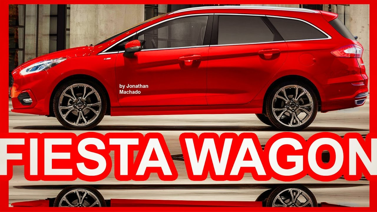 PHOTOSHOP New 2018 Ford Fiesta Wagon Next Generation @ 40th Anniversary #FordFiesta #GoFurther ...