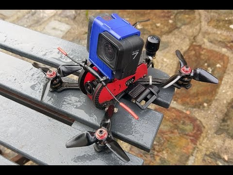 Cinematic video with a tiny 3 inch drone