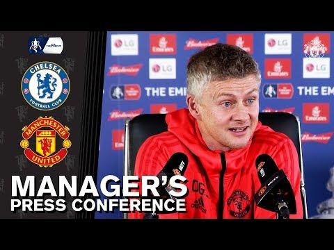 Managers Press Conference | Chelsea v Manchester United | Ole Gunnar Solskjaer