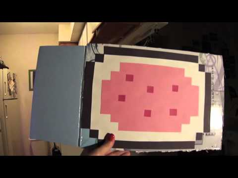 6efde491cfad How to Create a Nyan Cat Costume for Your Cat - YouTube