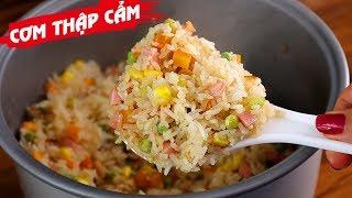 Cách nấu CƠM THẬP CẨM BẰNG NỒI CƠM ĐIỆN nhanh gọn đẹp ngon - Món Ăn Ngon