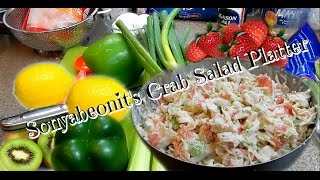 Imitation Crab Salad Platter } Party Time