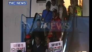 189 Nigerians arrive Lagos from South Africa