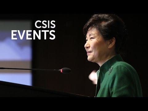 Statesmen's Forum: with the Honorable Park Geun-hye President of the Republic of Korea