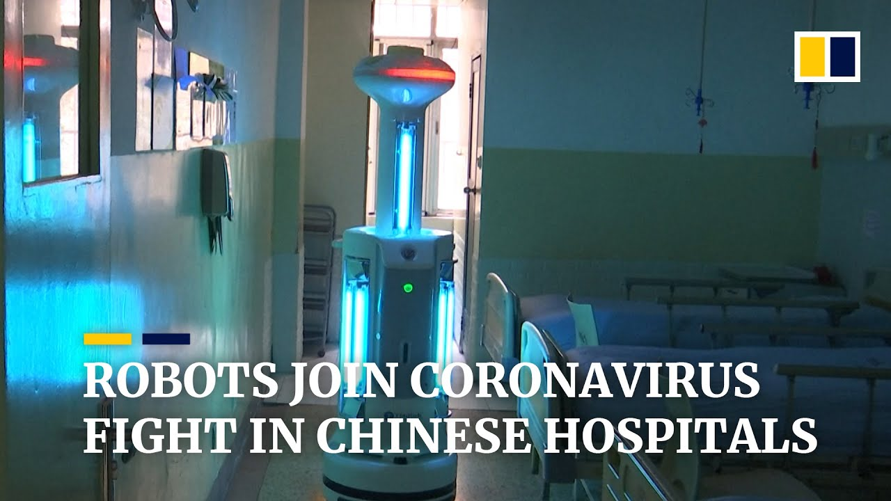 Chinese hospitals deploy robots to help medical staff fight ...