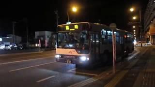 両備バス【第509回西大寺会陽・臨時バス】牛窓南線・昭和被服総業前停留所・発車