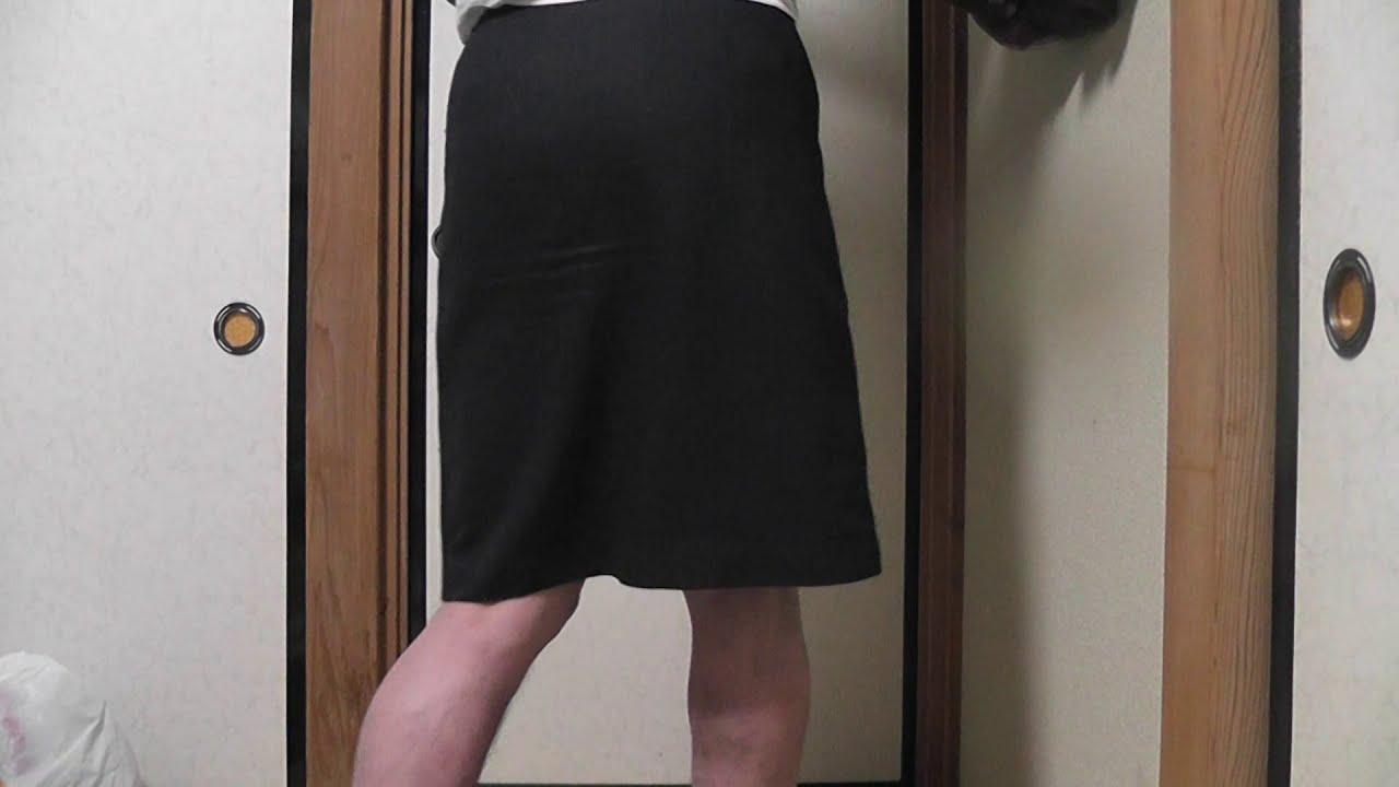 【スカート履いた、お尻】(≧▽≦)デコお母さん(´・ω・`)