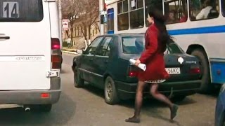 Woman Car Crashes Compilation, Women Driving Fail and accidents # 3