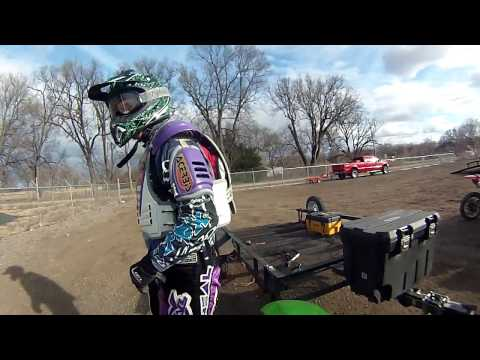 Riverside ATV Trails Topeka Kansas Jan 2017